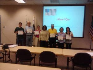Riverside LULAC members receive training from the Riverside County Registar of Voters