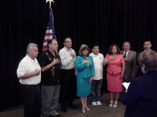 Riverside LULAC 3190 President Gilberto Esquivel - Elected Treasurer of California State LULAC