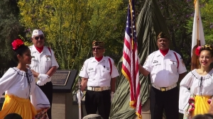 Ysmael R. Villegas Memorial VFW Post 184 presented the colors